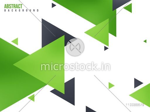 Abstract geometric background with shiny triangles.