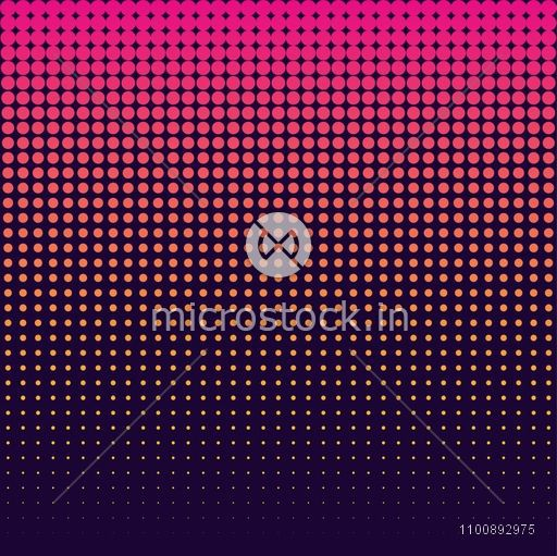 Modern seamless abstract background in halftone style.