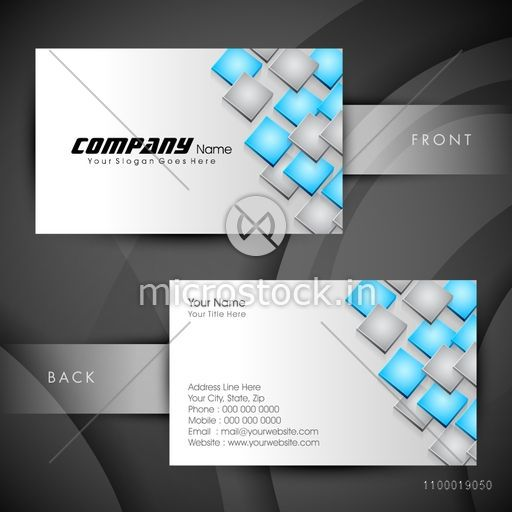 Business card name card call card or visiting card set with front business card name card call card or visiting card set with front and back reheart Choice Image