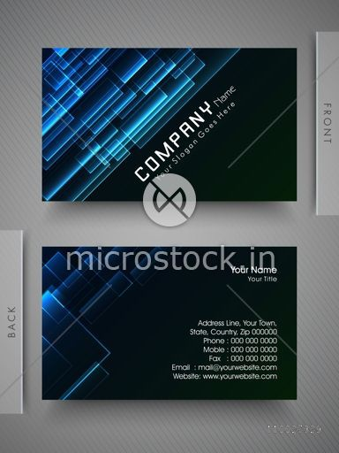 Business card name card call card or visiting card set with glossy business card name card call card or visiting card set with glossy abstract design reheart Images