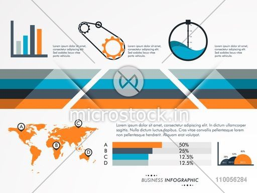 Creative professional infographic layout for your business creative professional infographic layout for your business presentation with bar setting graph map ccuart Images
