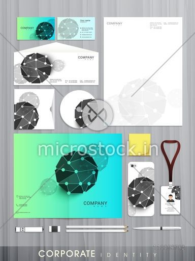 Professional business corporate identity set with creative abstract professional business corporate identity set with creative abstract design includes cd cover business card reheart Image collections