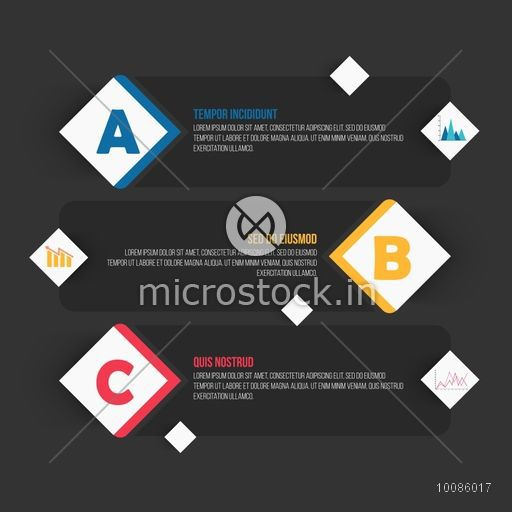 Creative infographic elements for your Business reports and presentation.