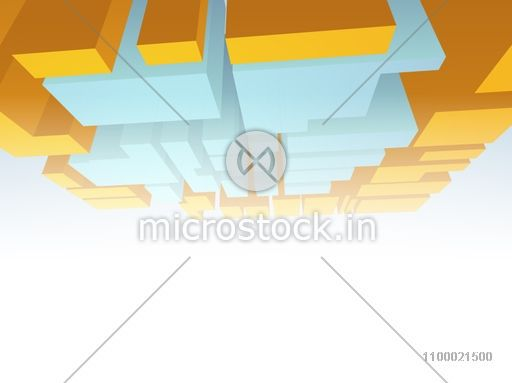 Conceptional architectural designing concept.