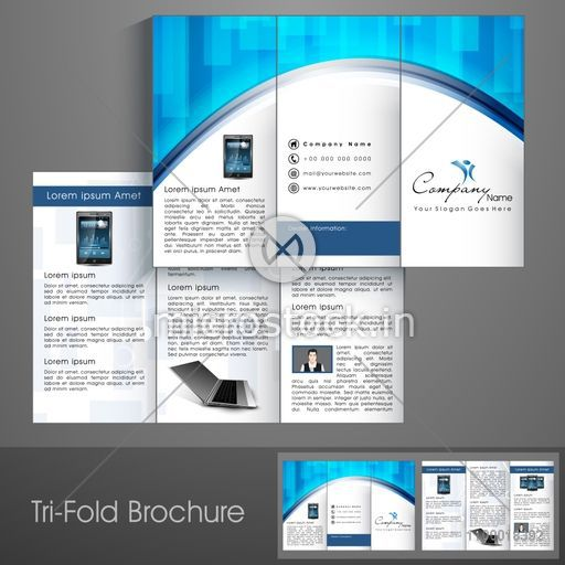 Professional Corporate Flyer | Professional Business Three Fold Flyer Template Corporate Brochure