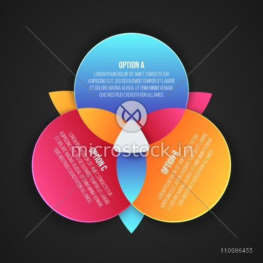 Colorful circle infographic elements for Business, Can be used as workflow layout, diagram, chart, graph and data presentation.