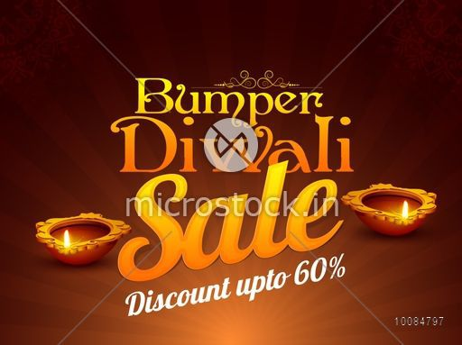 bumper diwali sale flyer special offer background clearance poster