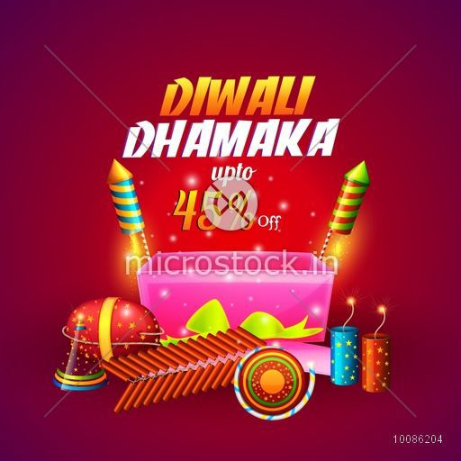 diwali dhamaka offer poster bumper price banner or flyer best