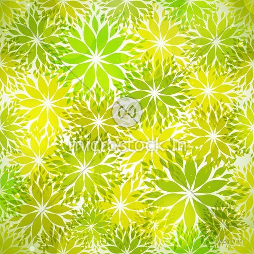 Save the nature concept with stylish text Eco Friendly and green seamless leaves pattern.