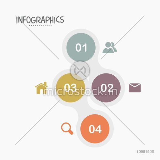 Creative infographic elements with different symbols for your Business.