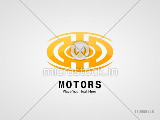 Motors business symbol.