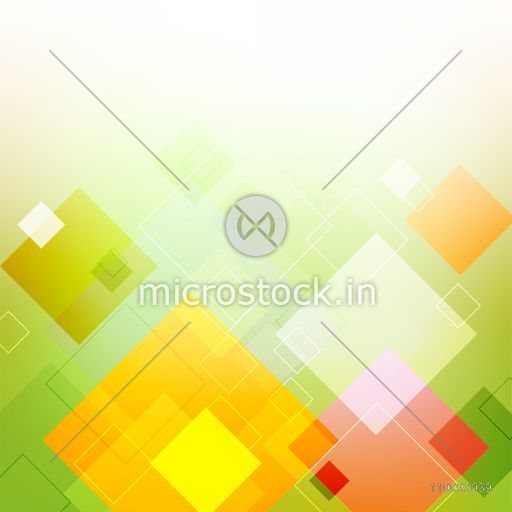 Shiny colorful abstract geometric background with squares.