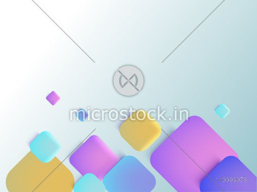 Abstract geometric background with colorful squares.