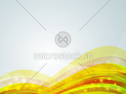 Creative abstract background with flowing waves.