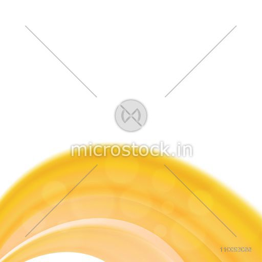 Abstract background with smooth yellow stripes.