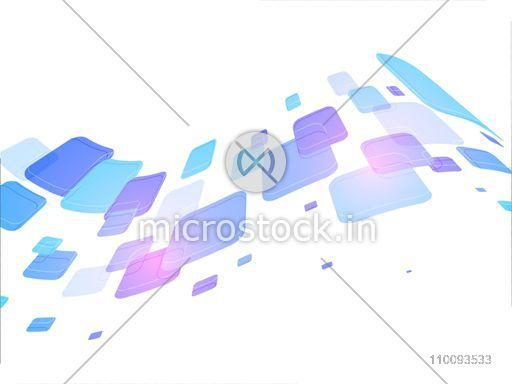 Colorful squares on white background.