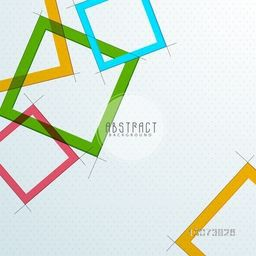 Stylish Abstract design on glossy background.
