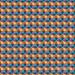 Creative Abstract design seamless pattern.