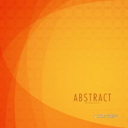 Creative Abstract background in orange color.