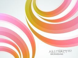 Creative colorful abstract design decorated backgroud.