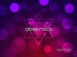 Shiny abstract design decorated colorful background.