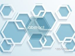 Creative abstract background with geometric shapes.