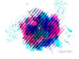 Stylish abstract background with colorful splash.