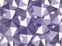 Origami Geometrical Background. Abstract Geometric Pattern, Vector Illustration.