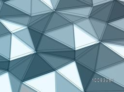 Abstract Geometrical Background, Geometric Pattern, Geometrical Shapes, Origami Geometry Background. Vector Illustration.