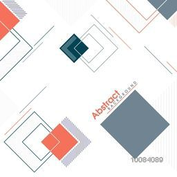 Creative modern abstract background with geometric elements.