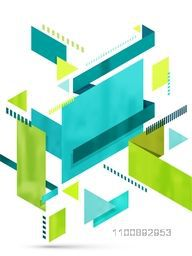 Creative modern abstract geometrical background.