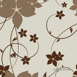 Abstract floral background with creative flower design.