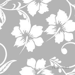 Creative white floral flowers design decorated grey background.