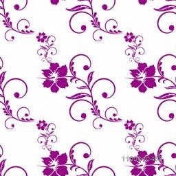 Beautiful floral flowers decorated pattern.