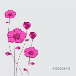 Beautiful floral background.
