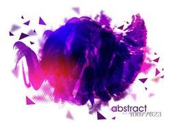 Creative glossy Abstract background.