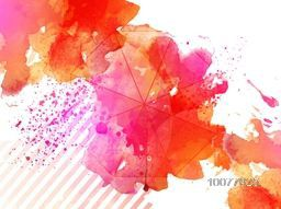 Creative Abstract background with colorful splash.
