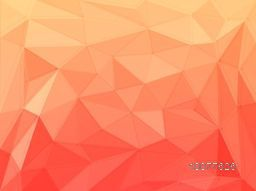 Creative glossy origami Abstract design background.