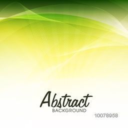 Beautiful abstract background with glossy waves.
