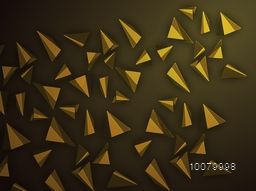 Stylish abstract design decorated glossy background.