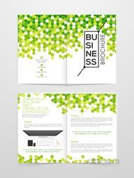 Creative Nature Brochure, Flyer, Banner or Template design with digital device.