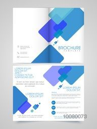 Two Page Professional Brochure, Template or Flyer design for your Business.