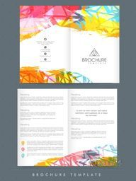 Professional Brochure, Template or Flyer design with front and back page presentation for your Business.