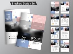 Professional Business Brochure design with space for your image and text.