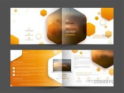 Creative Professional Brochure, Cover Design for your Business.