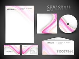 Creative corporate identity kit include CD Cover, Letterhead, Business Card and Envelope.