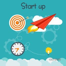 Creative Infographic elements for Start Up a new Business project or ideas for successful progress.