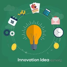Creative Business Infographic Elements for Innovative Idea concept.