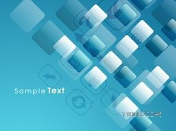 Abstract design decorated background with web sign or symbol for business concept.