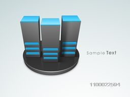 Vector illustration of Server on stage for Networking and Technology concept.